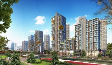 Tek parselde Türkiye'nin en büyük karma yaşam projesi başkentte yükseliyor