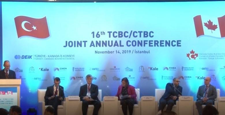 Türkiye, Kanada için ticareti geliştirmede 'anahtar' ülke