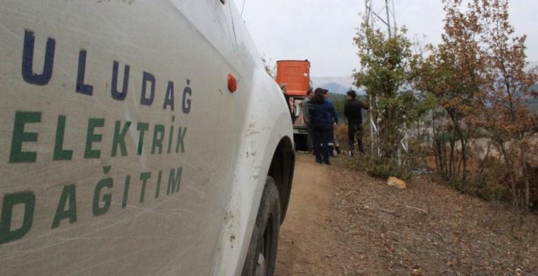 UEDAŞ'tan Keles'e 365 gün kesintisiz elektrik