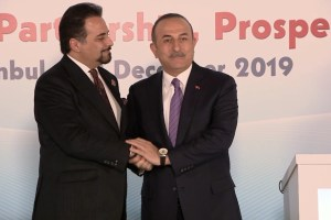 """Bakan Çavuşoğlu: """"Teröristler bilsinler ki onları inlerinde, dağlarında, ülke içinde ve ötesinde yok etmeye devam edeceğiz"""""""
