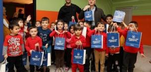Çocuklar için hijyen eğitimine Bakan Işıksu'da katıldı