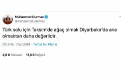 Muhammet Durmaz'ın o paylaşımı 11 bin beğeni aldı