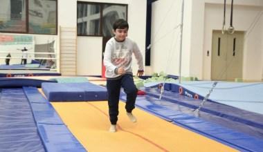 (Özel) Engelli çocuklar Nilüfer'de cimnastik ile hayata tutunuyor