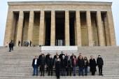 Büyükçekmeceli muhtarlardan Anıtkabir ziyareti