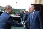 Erdoğan – Putin zirvesi başladı