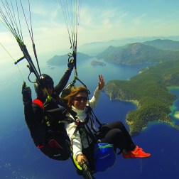 Atraining Flight Over Oludeniz