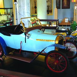 "BABY C.I.D 1910: The displayed automobile, Dijon, has been produced by Constructions Industrielles which is the successor company of the Cottereau & Co located in France. ""Baby"", a light automobile of 9 hp with a single cylinder, was produced between the years of 1910 and 1913."