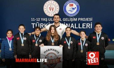 Marmarisli Genç Yüzücülerden Büyük Başarı