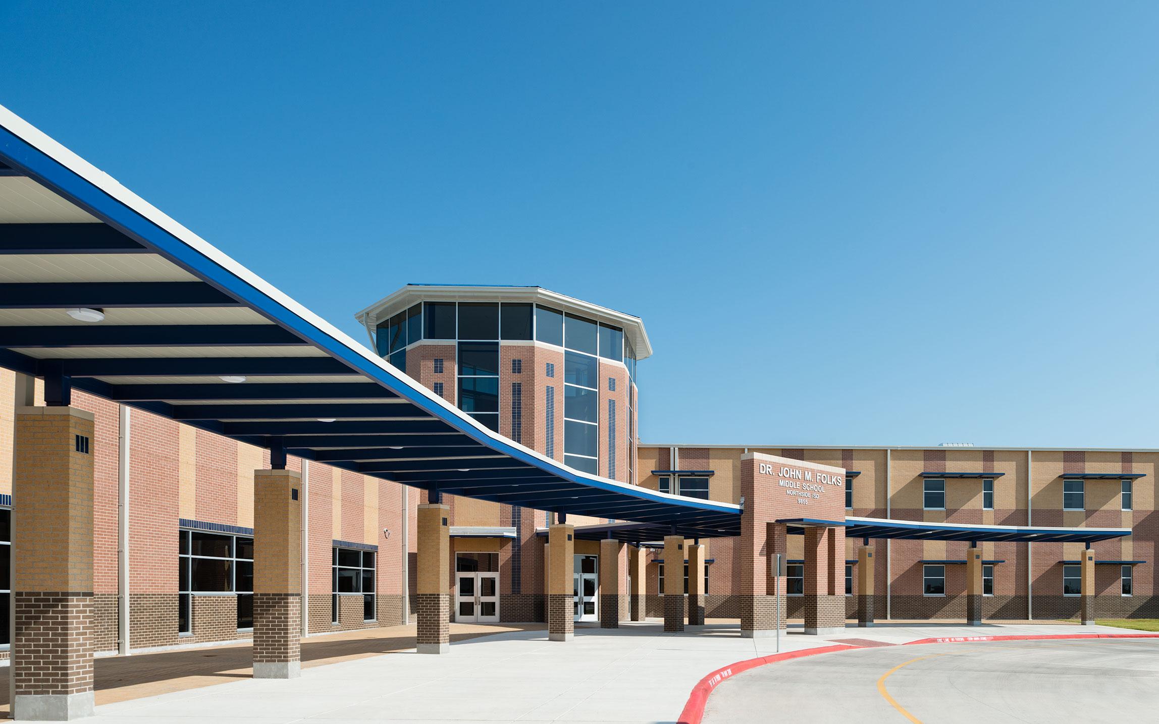 Dr John M Folks Middle School  Northside ISD  Marmon