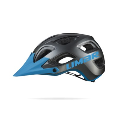 casco limar 808dr graduable negro azul