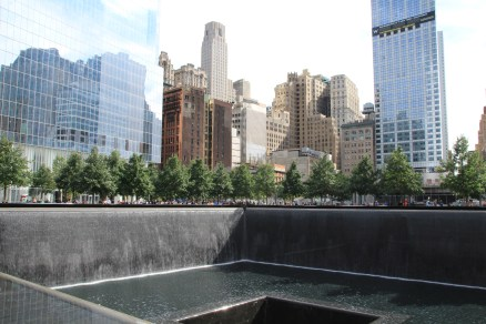 A truly impressive memorial at Ground Zero