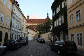 Tucked away behind the Jewish Quarter, the area around the Abby of St. Agnes oozed calm.