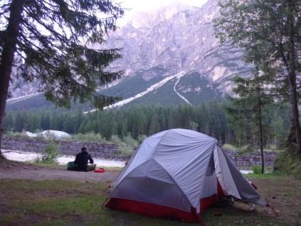 Camping Olympia in Cortina