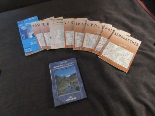 All maps and guide book for the Haute Route
