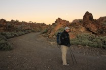 Walking in the Teide caldera