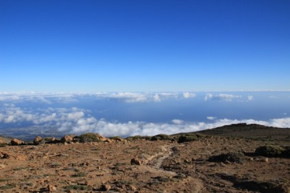 A view to the South of Tenerife from the Guajara