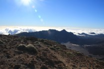 A view of the Tiede caldera from the Guajara