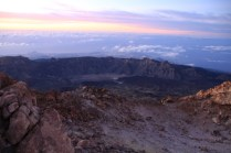 Southern Tenerife seen from the summit of the Pico del Teide