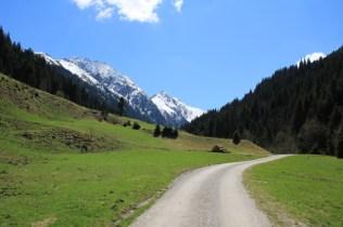 Road towards the Retternsteinalm
