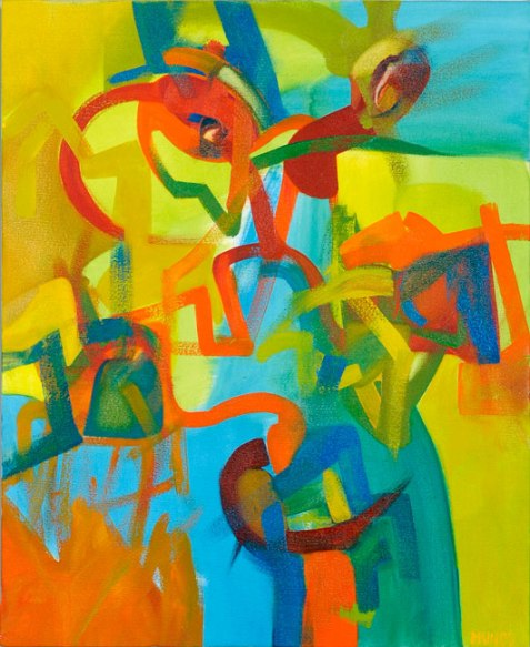 Enredos, 73 x 60 cm
