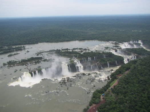 Iguazu from the helicopter