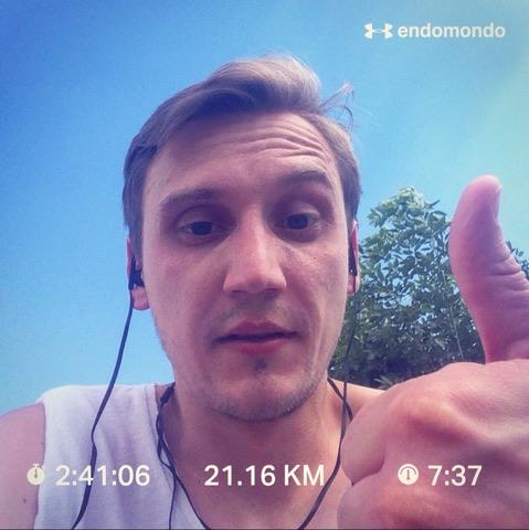 półmaraton marnuje czas