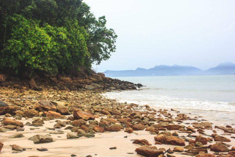Langkawi skull sand beach