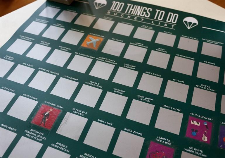 100 rzeczy do zrobienia