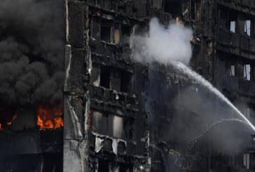 Incendie de la Grenfell Tower: le bilan monte à 30 morts