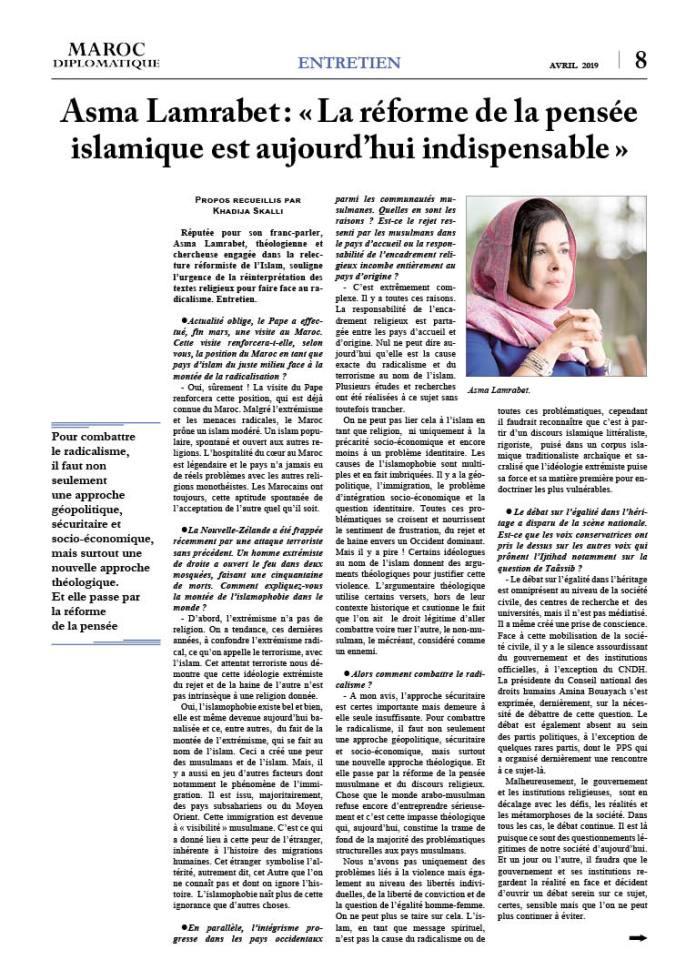 https://i0.wp.com/maroc-diplomatique.net/wp-content/uploads/2019/04/P.-8-Entretien-Khadija.jpg?fit=696%2C980&ssl=1