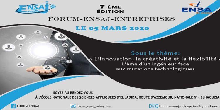 Forum ENSA d'el Jadida 2020