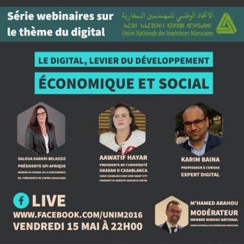 Le Digital, Levier Du Développement Economique Et Social