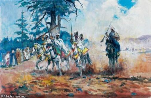 pontoy-henri-jean-1888-1968-fr-fantasia-au-maroc-1703118