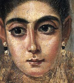 """Portrait de la femme romaine dite """"L'Européenne"""""""