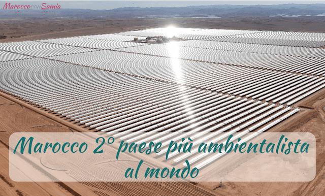 Marocco leader per la tutela dell'ambiente
