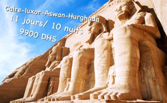 Egypte 11Jours 9900 Dhs