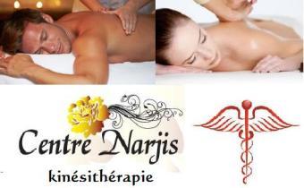 Centre- narjis kiné : 1 massage médical anti douleurs+électrode pour H&F .