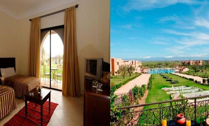 1 nuit All Inclsuive a Marrakech Ryad Parc pour 2 adultes + 2 enfants a 840 DH