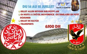 Wac vs Ahly en Egypt
