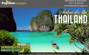 CIRCUIT EXOTIQUE AUTOUR DES ILES THAILANDAISES EN 15 JOURS