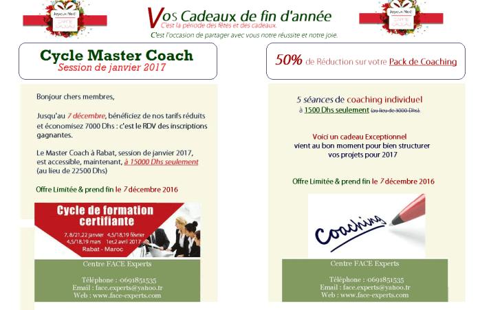 La GRANDE journée de COACHING : samedi 9 mai à Rabat par coach Hasna KHOBZI