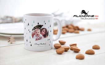 Mug personnalisé avec texte, logo ou photo