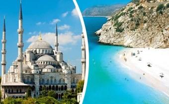 PAPILLON VOYAGES : Combiné Istanbul & Antalya à partir de 12990
