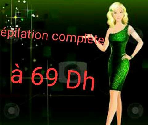 Épilation complète à 69 Dh