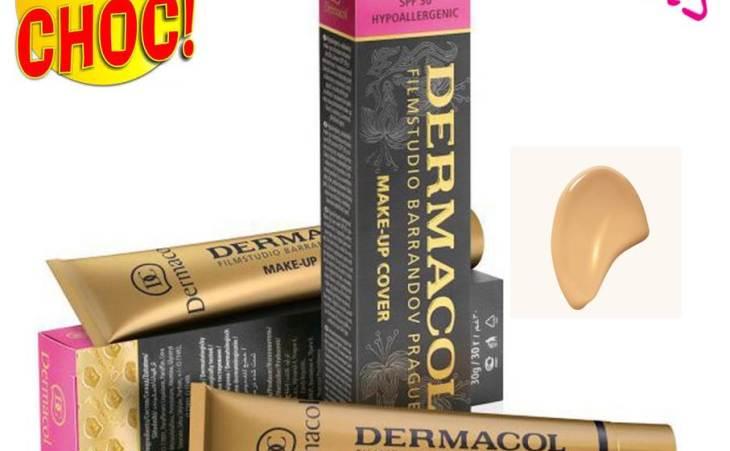 Dermacol : fond de teint cover 30ml Couleur : beige clair