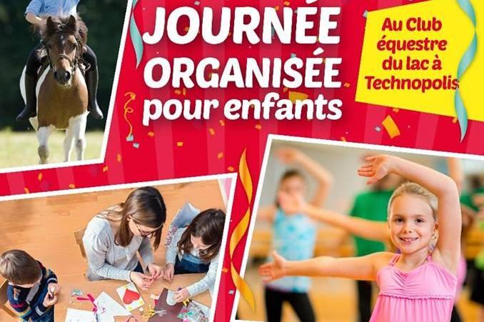 journée organisée pour enfants