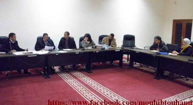 لقاءات اواصلية لرئيس المجلس البلدي لابن جرير