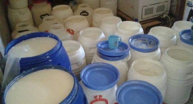 مصنع عشوائي لتحضير الحليب و مشتقاته بمنطقة الجرف بإنزكان