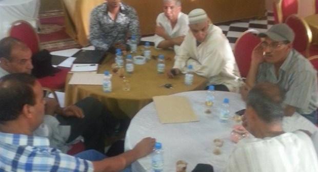 """تنغير : حزب السنبلة يواصل لقاءاته التواصلية و"""" عسو عبد الرحمان """" منسقاً إقليميا"""