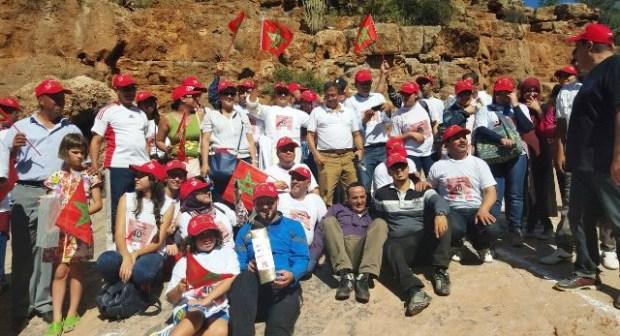 أكادير : السياح الأجانب يشاركون المندوبية الجهوية للسياحة في سباق واحة الجنة ضمن احتفالية عيد المسيرة الخضراء